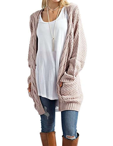 431e3c2e377 Package contents  1 X Women s cardigans. Steven mcqueen women s cable knit  sweater open front long CardigansThis Cable Knit Cardigan Sweater is so on  trend ...