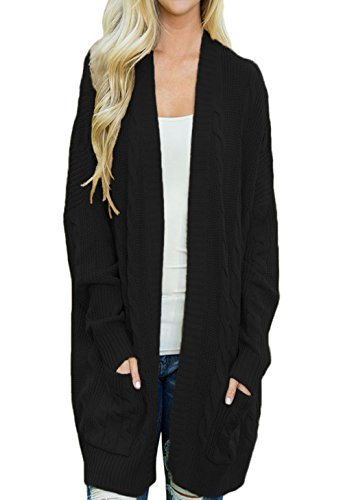 59006298d79 Dokotoo Womens Fashion Open Front Long Sleeve Cardigans Sweater With ...