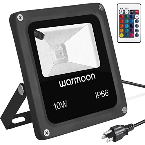 RGB Color Changing LED Floodlight Outdoor Garden Security Spotlight Waterproof