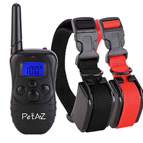 PetAZ Dog Training Collar,Electric Dog Shock Collars With Remote