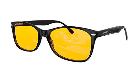 76993c4590 Digital Eye Strain Prevention - Blue Light Blocking Glasses - Filter  Artificial Light for Deep Sleep - an FDA Registered Company - Swannies  Gamer and ...