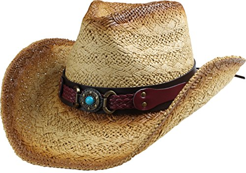 6bcc9cad Men's and women's Cowboy Hats. Classic cattleman Style. Crown: 4-1/2
