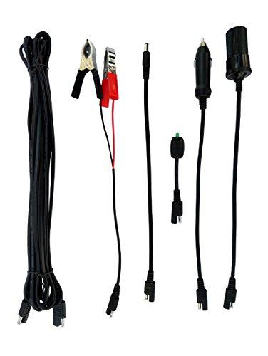 Renogy MC4 to SAE Adaptor 12 AWG Panel MC-4 Type Connector to RV Caravan Trai...